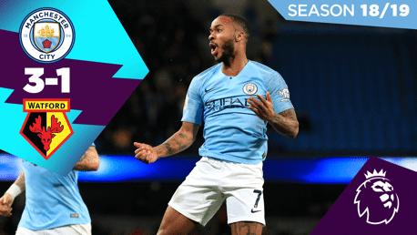 City 3-1 Watford: Full match replay 2018/19