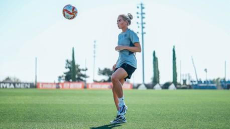 Training: Madrid on the mind!