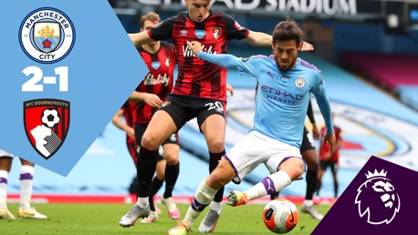 City 2-1 Bournemouth: Ulangan Penuh Pertandingan