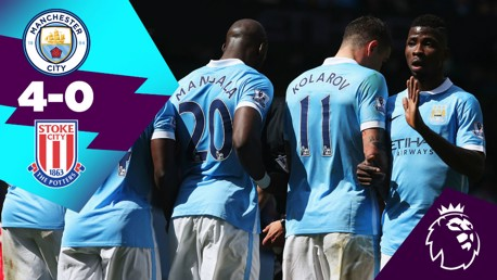 Classic Highlights: City 4-0 Stoke