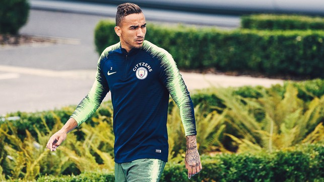 FOCUS : Danilo gets ready to get down to work