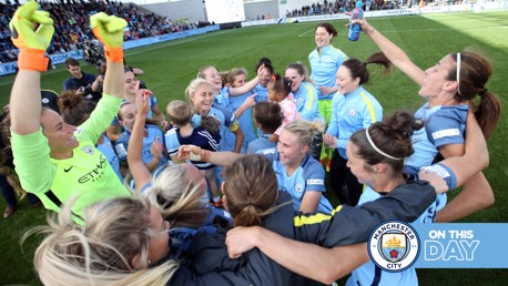 FA WSL Flashback: City win the 2016 title!