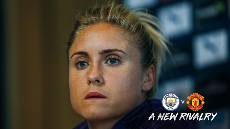 CAPTAIN'S ADDRESS: Steph Houghton previews Saturday's mouth-watering Manchester Derby
