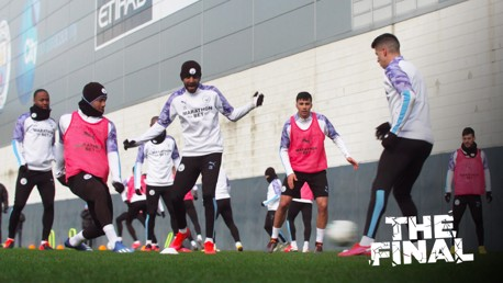 Carabao Cup Final training: Eyes on the prize!