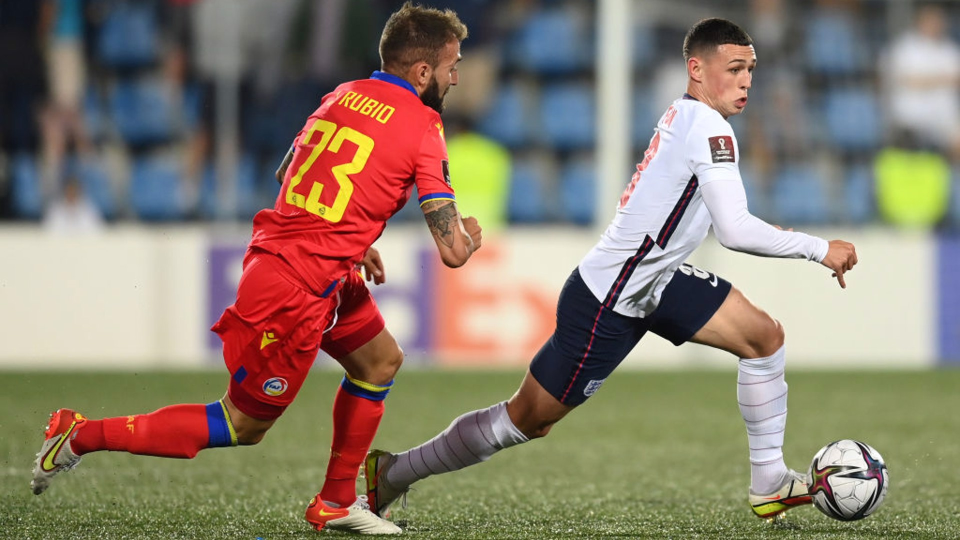 CLASS ACT: Phil Foden was in sublime form for England against Andorra