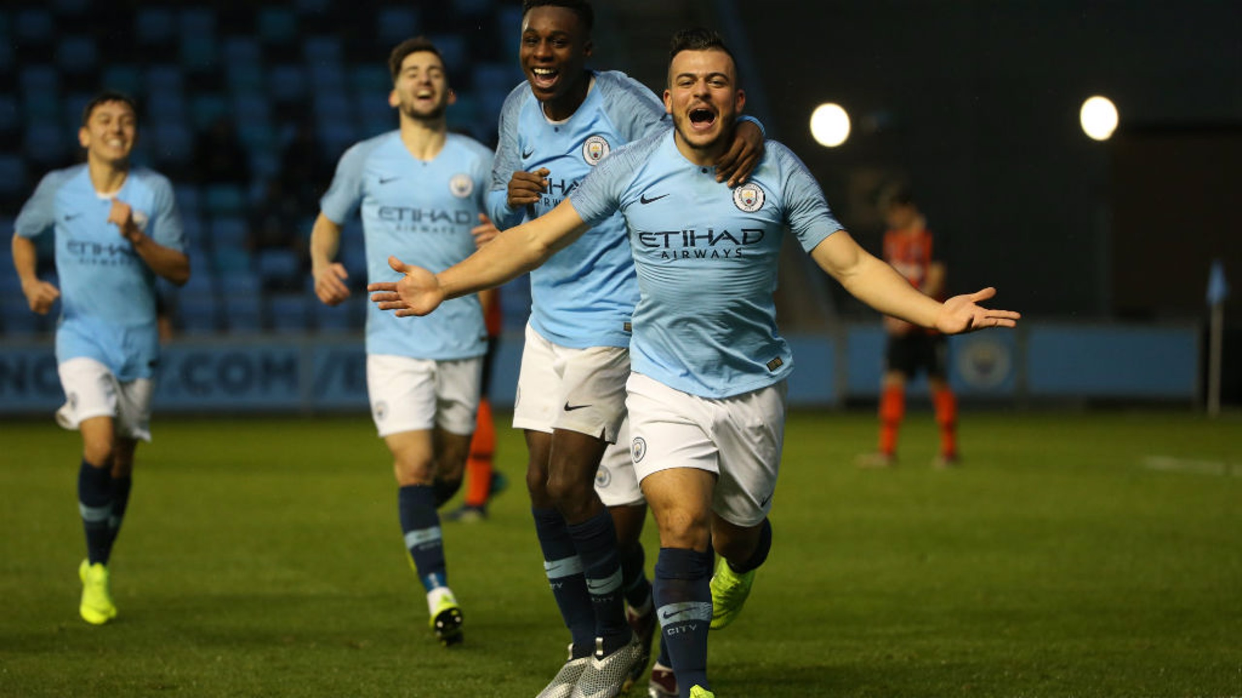 COMEBACK: City sealed their first Uefa Youth League win