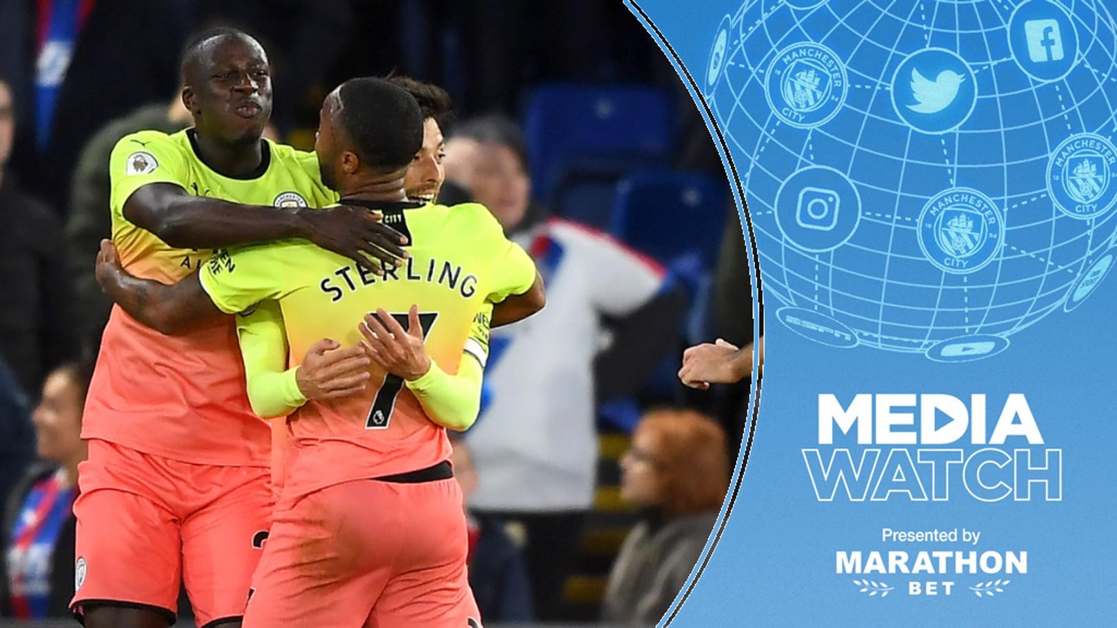 PALACE RAID: City secured a crucial 2-0 win at Crystal Palace
