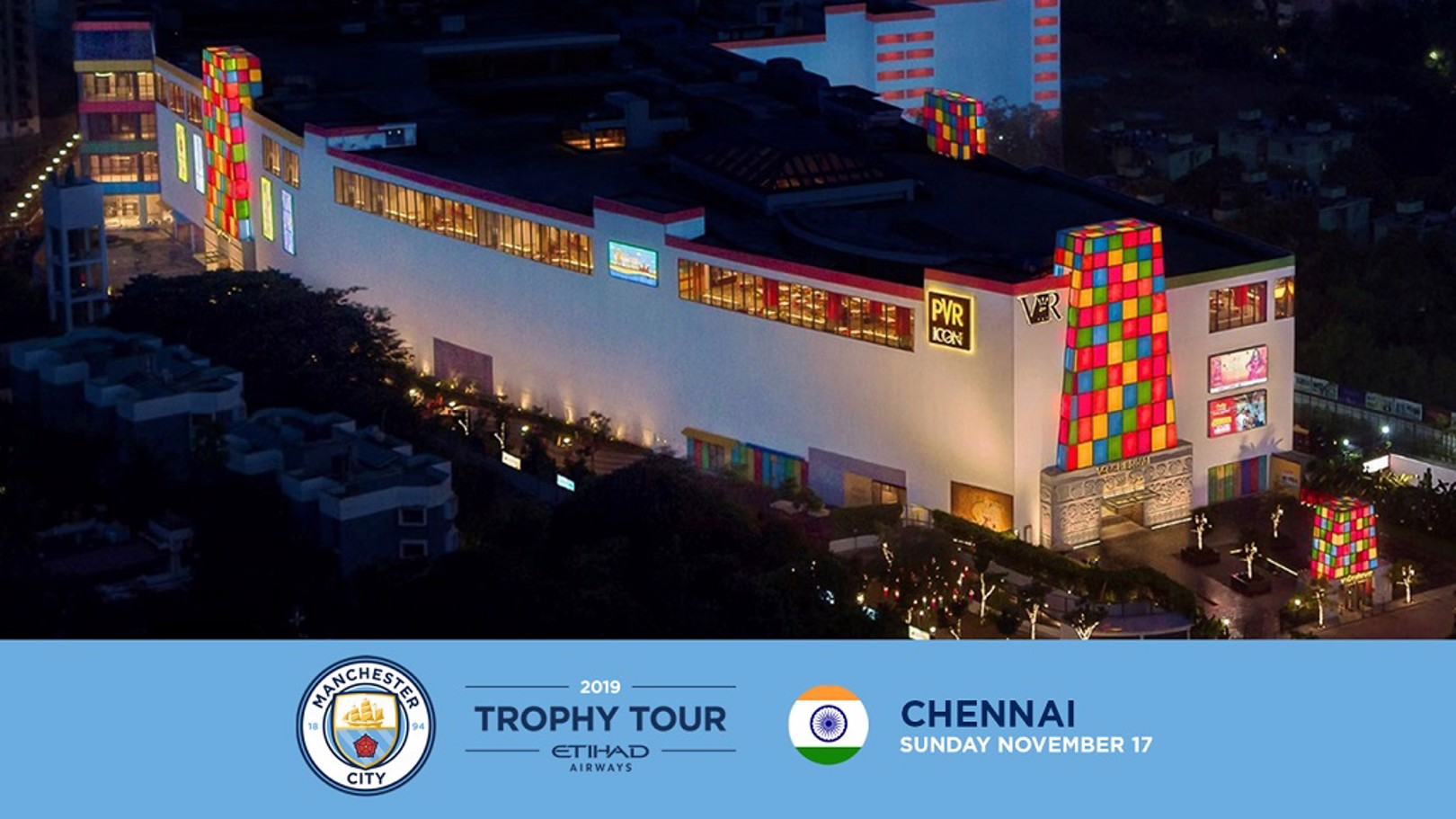 Trophy Tour is heading to India!