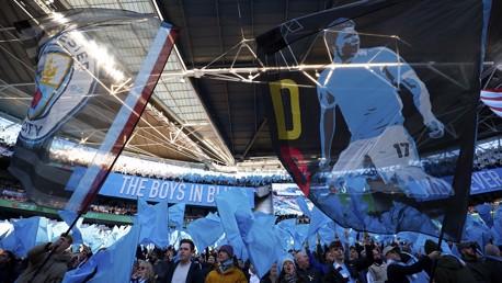 Cityzens Wembley display revealed