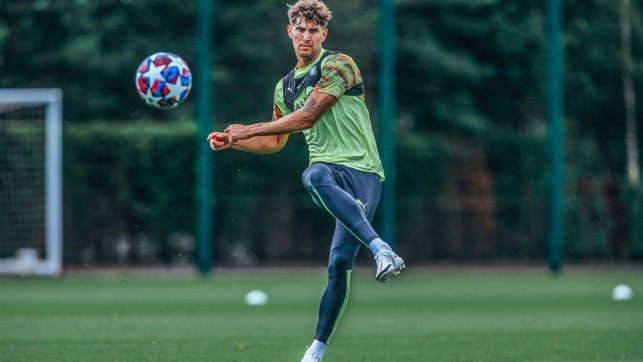 Made of Stones : John Stones, focused and ready...