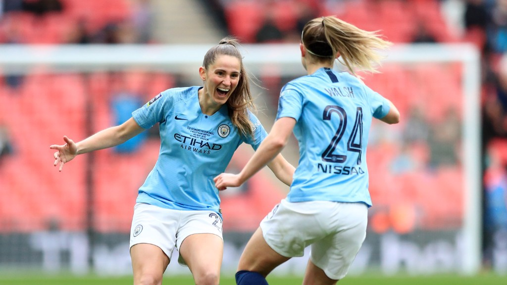 Youngsters star as City clinch FA Women's Cup
