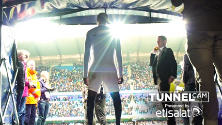 TUNNEL CAM: City v Brighton.