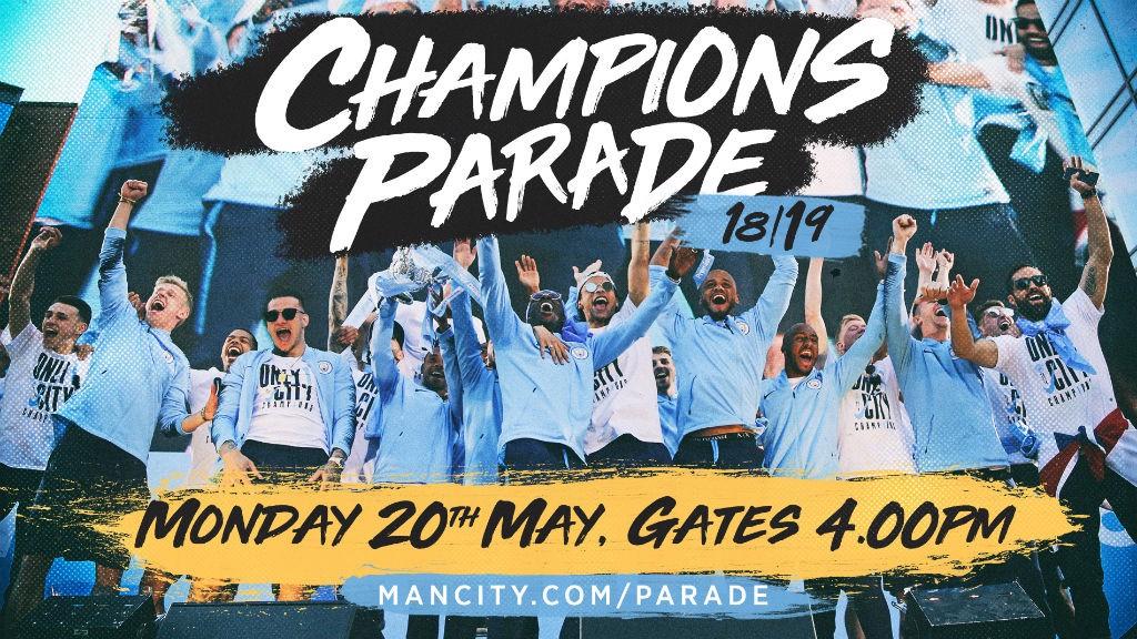 City's Premier League parade details!