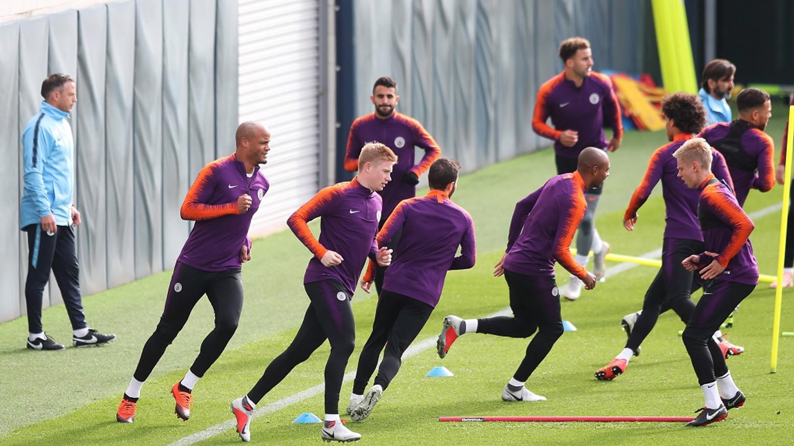 De Bruyne returns to training