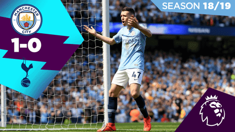 City 1-0 Spurs: Full match replay 2018/19