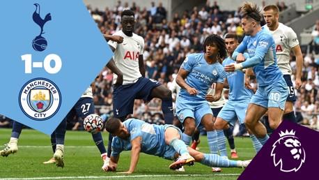 Spurs 1-0 City: Full Match Replay