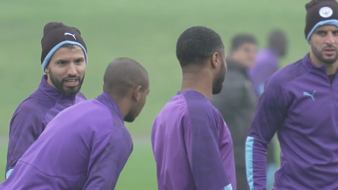 Training: Back to work ahead of another big week