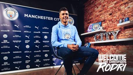 Rodri : Interview CityTV de la nouvelle recrue