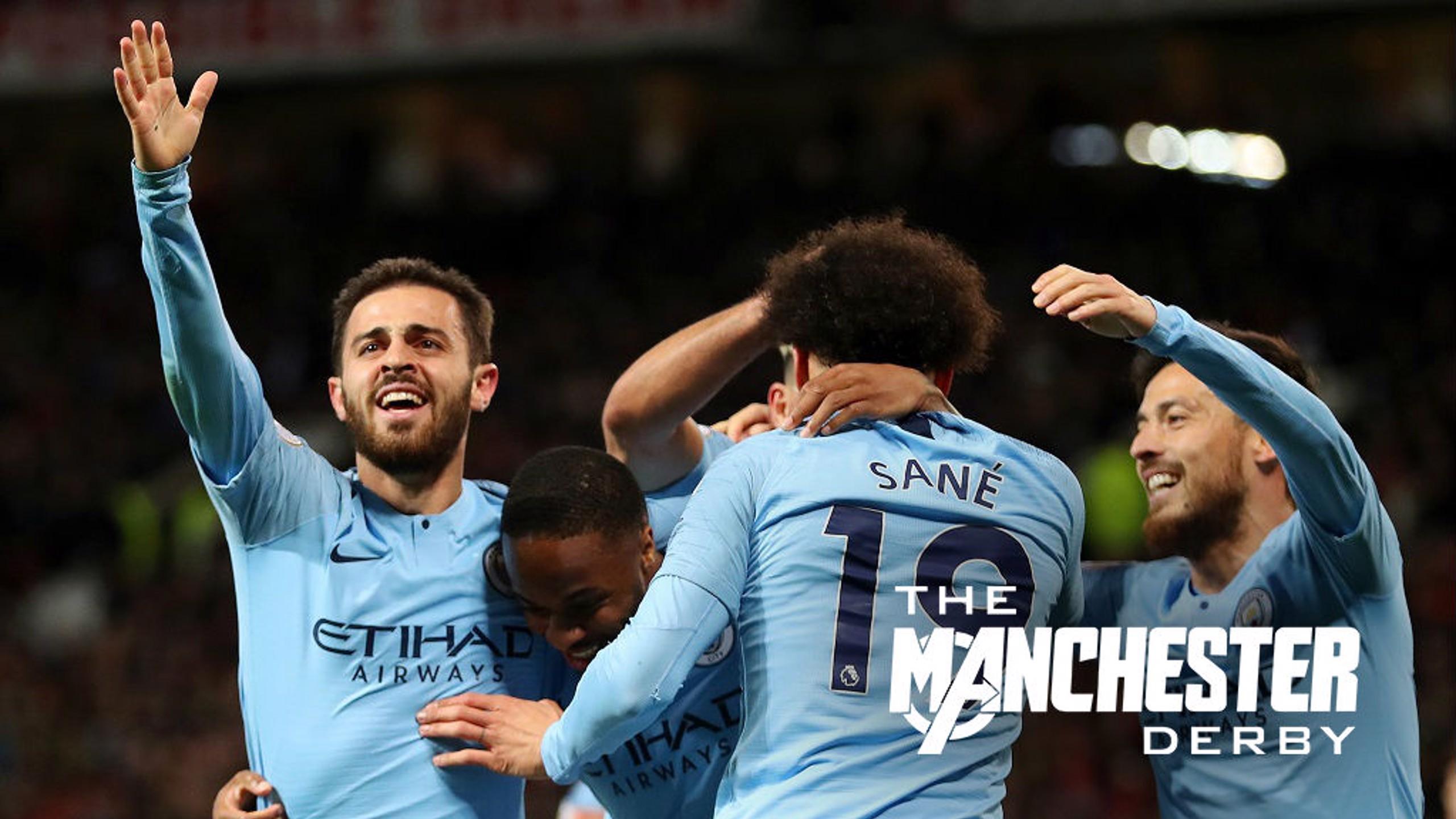 Bernardo e Sané selam vitória do City no dérbi