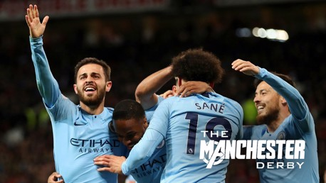 Bernardo and Sane seal vital derby win for City