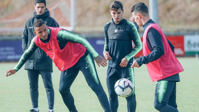 BALL WORK : Phil Foden plots his move