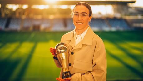 Bronze receives FIFA awards