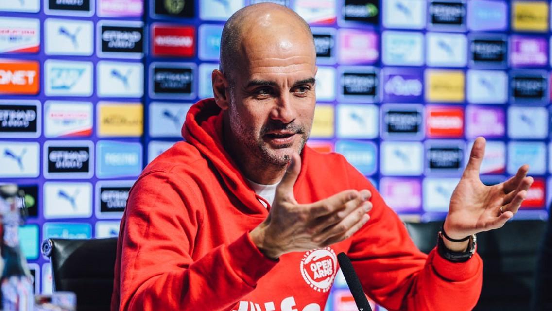 'Silva, Aguero and Sterling attitude incredible' says Pep