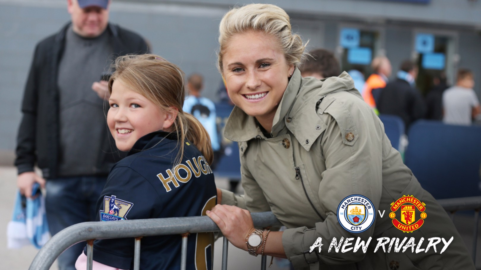 MEET YOUR HEROES: Fans are invited to meet the players after Saturday's Manchester Derby