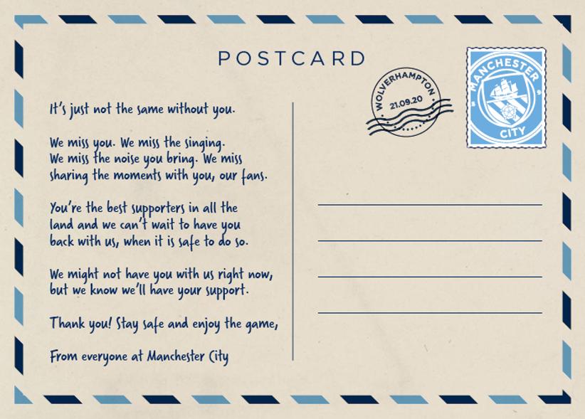 Wolves Postcard 21 09 2020