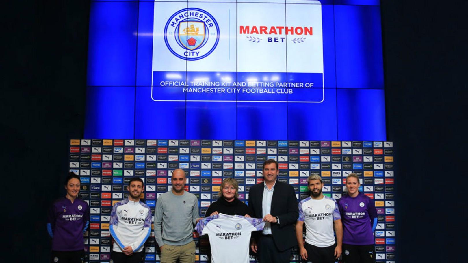 Marathonbet become City's training kit partner