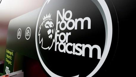 Les joueurs de Premier League réaffirment qu'il n'y a pas de place pour le racisme.