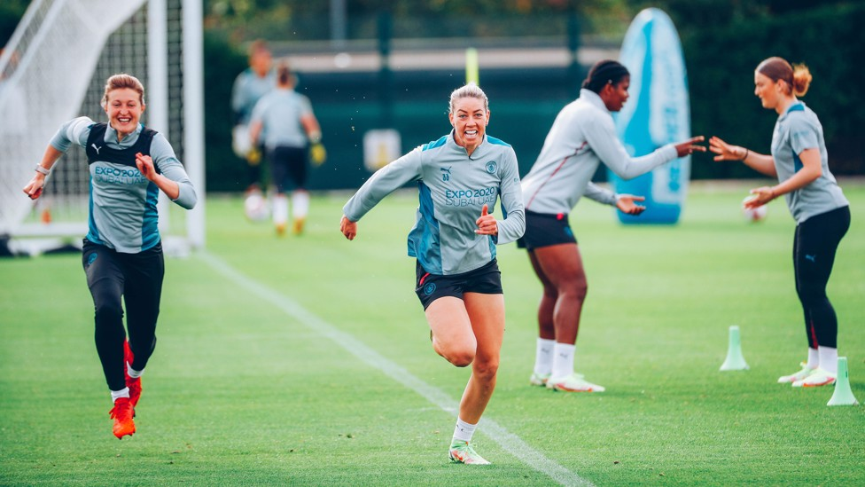 AK33 : Alanna Kennedy is in contention for her first Manchester Derby appearance