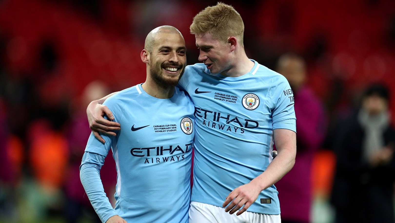 NOMINATED: Along with John Stones, David Silva and KDB are on the UEFA TOY long list