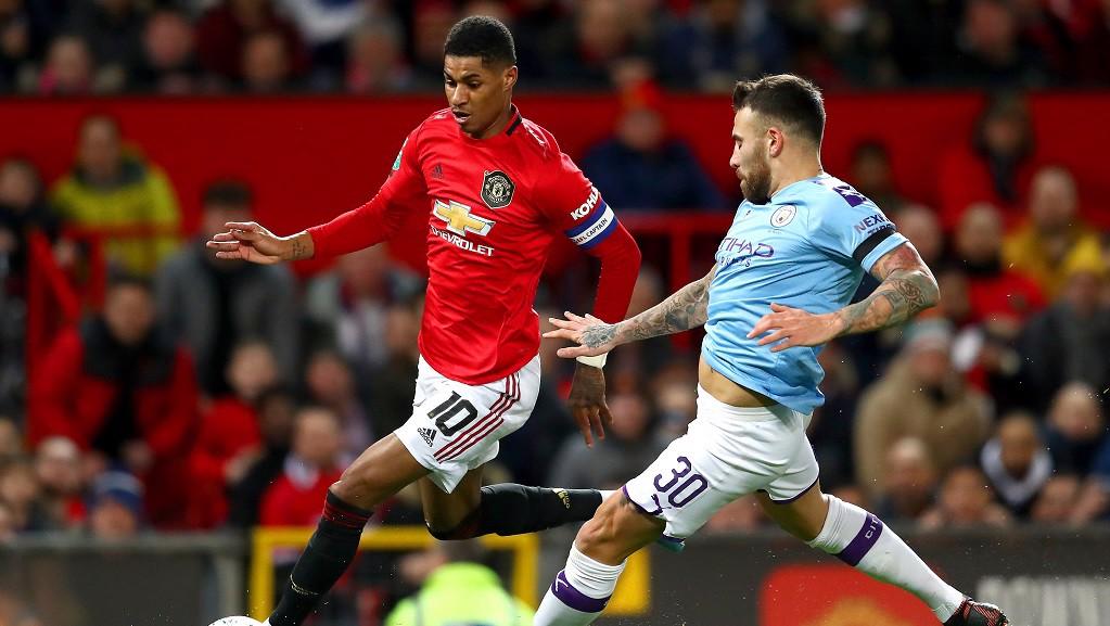 Rashford foi a principal ameaça do United no jogo