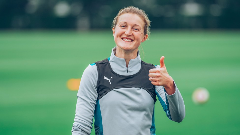 Ellen White - a smile is never far from our England star