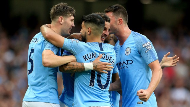 LEAD : City get back in the lead thanks to Kyle Walker.