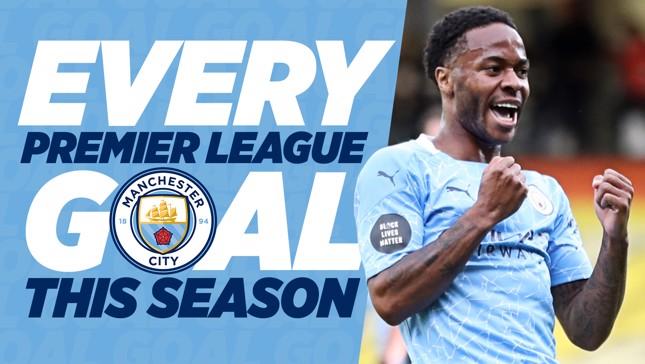 Watch all of City's 19/20 Premier League goals