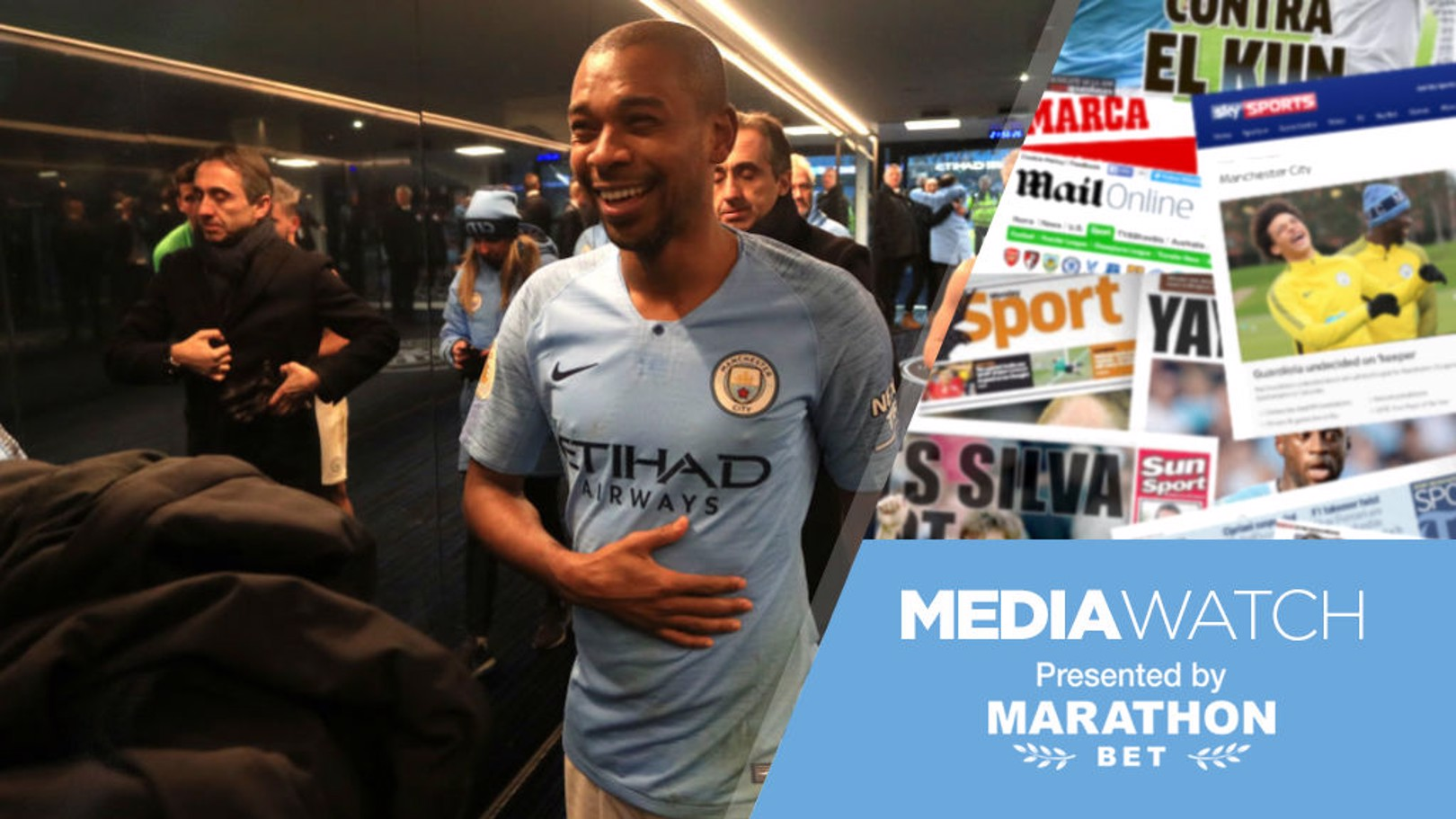 MEDIA WATCH: Fernandinho received widespread praise for his performance in the win over Liverpool