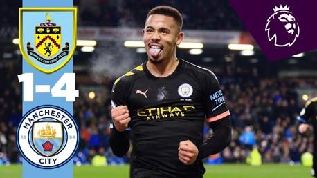 Burnley 1-4 City: Full match replay