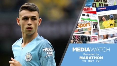PHIL OF THE FUTURE: Phil Foden has been tipped once again for greatness...