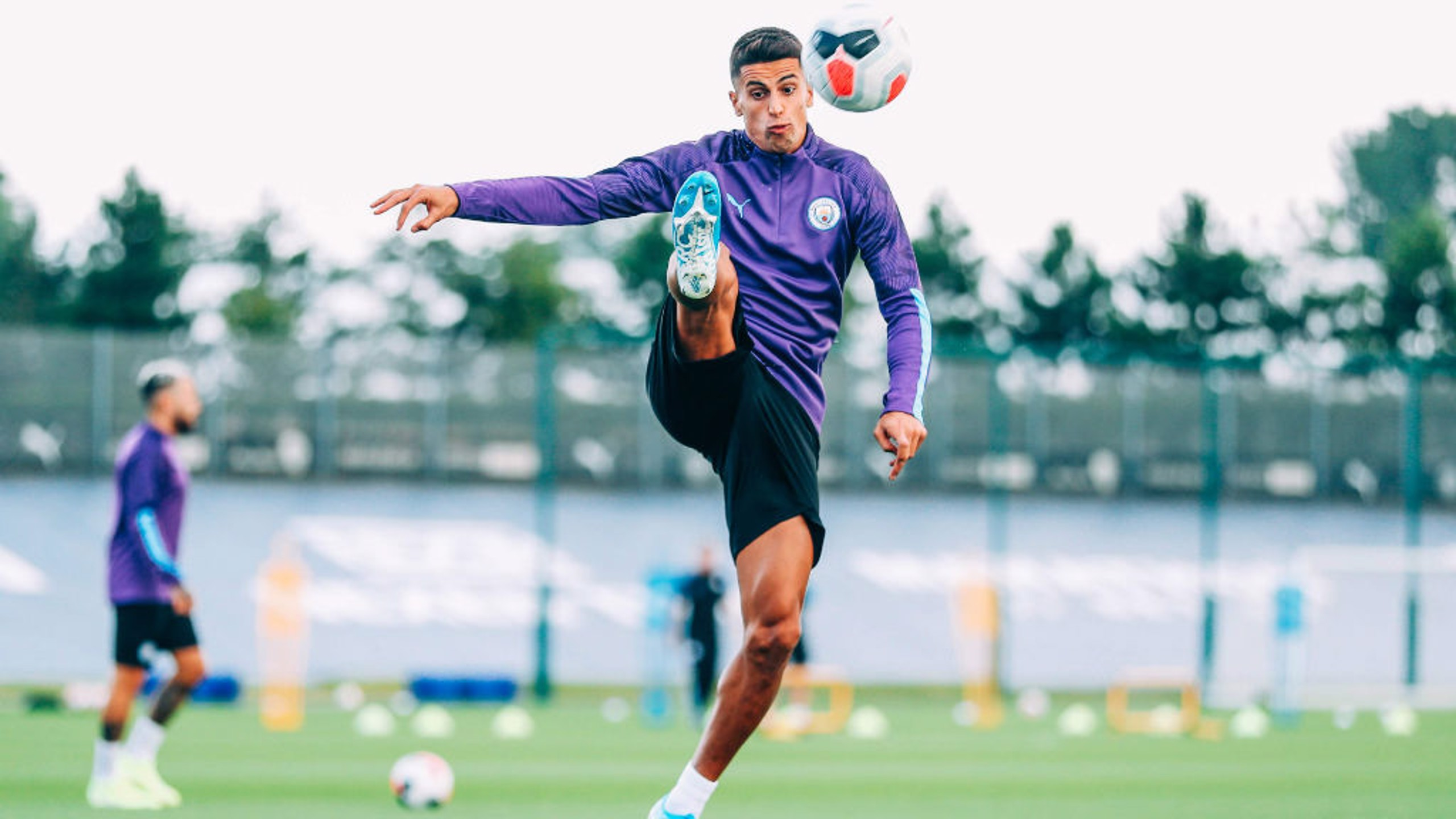 JOAO CANCELO: Our new signing brings the ball under control