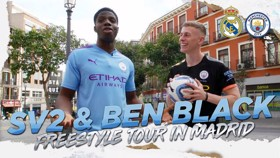 SV2 and Ben Black | Freestyle tour in Madrid!