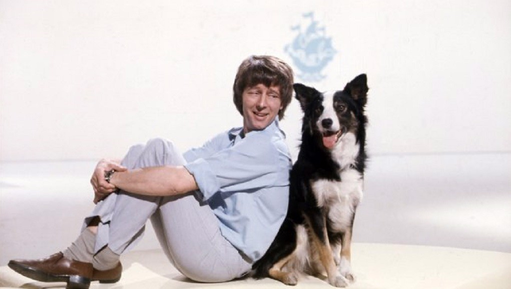 TV LEGENDS : Blue Peter presenters John Noakes and Shep