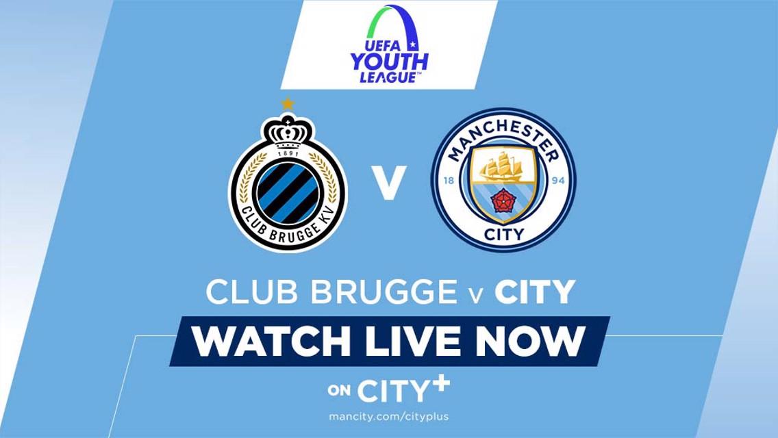 WATCH LIVE: UEFA Youth League - Club Brugge v City U19s on CITY+