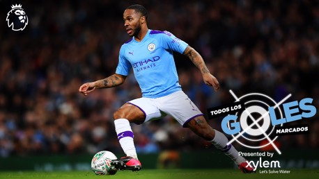 Raheem Sterling: todos los goles