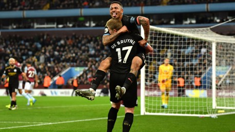 Move of the Match: De Bruyne provides for Jesus