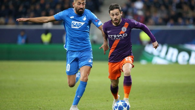 FRESH LEGS : Substitute Bernardo Silva looks to make an instant impact