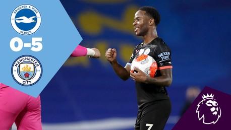 Full Match Replay: Brighton v City
