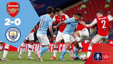 Ulangan Penuh Pertandingan: Arsenal 2-0 City