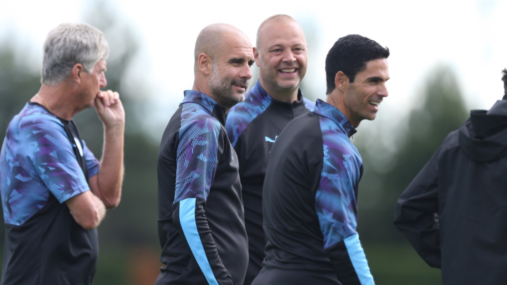 """MANAGER'S NOTES: Pep Guardiola has described setting trophy targets as """"ridiculous"""" and says his only focus is on improving his players' performance level."""